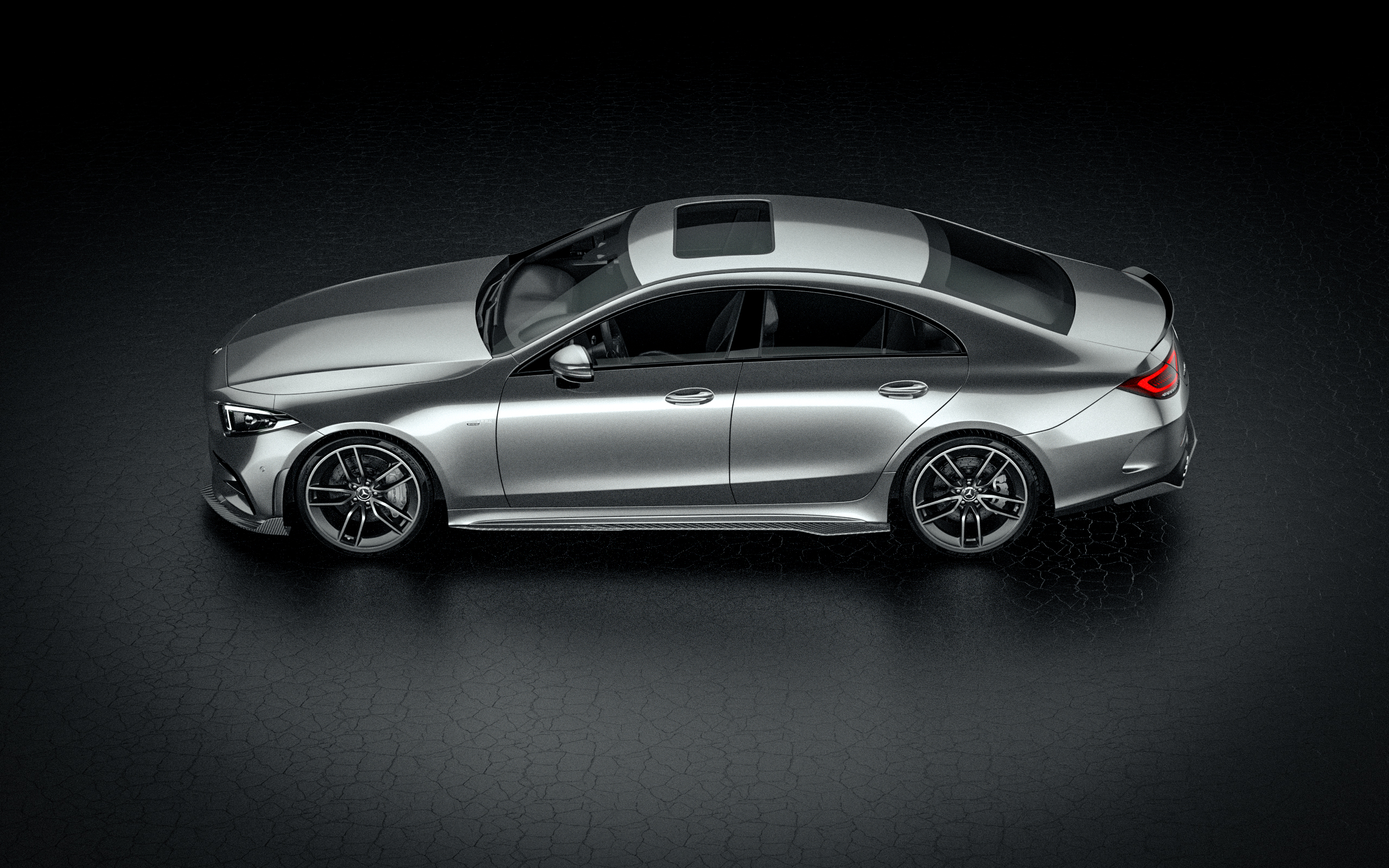 360degree viewer Mercedes-Benz CLS53 AMG with bodykit by ZACOE